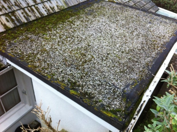 flat roofing cornwall  - fibreglass roofing cornwall - case study part 1