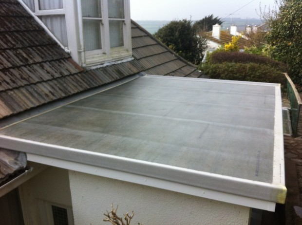 part 3 of flat roofing cornwall - fibreglass roofing cornwall - case study
